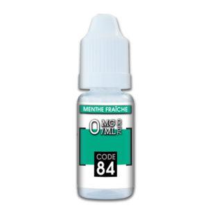 e-liquide Menthe fraîche